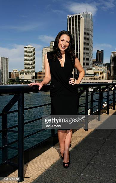 Kate Ritchie poses during an event where she is announced as the new Vaseline Ambassador at the Overseas Passenger Terminal on July 15, 2009 in...