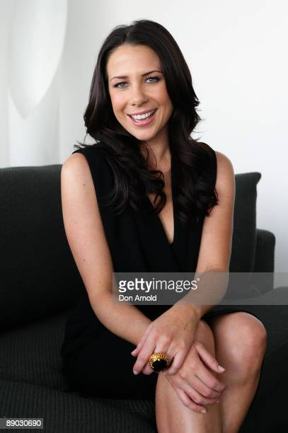 Kate Ritchie poses during an event where she is announced as the new Vaseline Ambassador at the Overseas Passenger Terminal on July 15 2009 in Sydney...