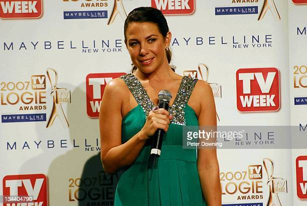 Kate Ritchie wins the top accolade the Gold Logie for Most Popular Personality