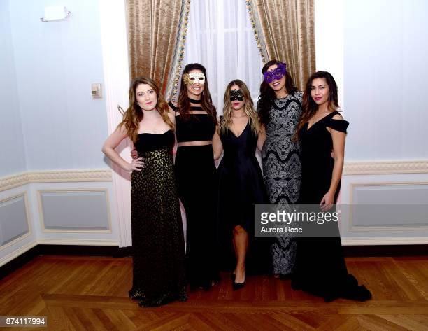 Kate Robertello Amanda Dimarco Brittany Toni Cherisi and Keely Fergosso attend Search and Care's Annual Yorkville Ball at Private Club on November 10...