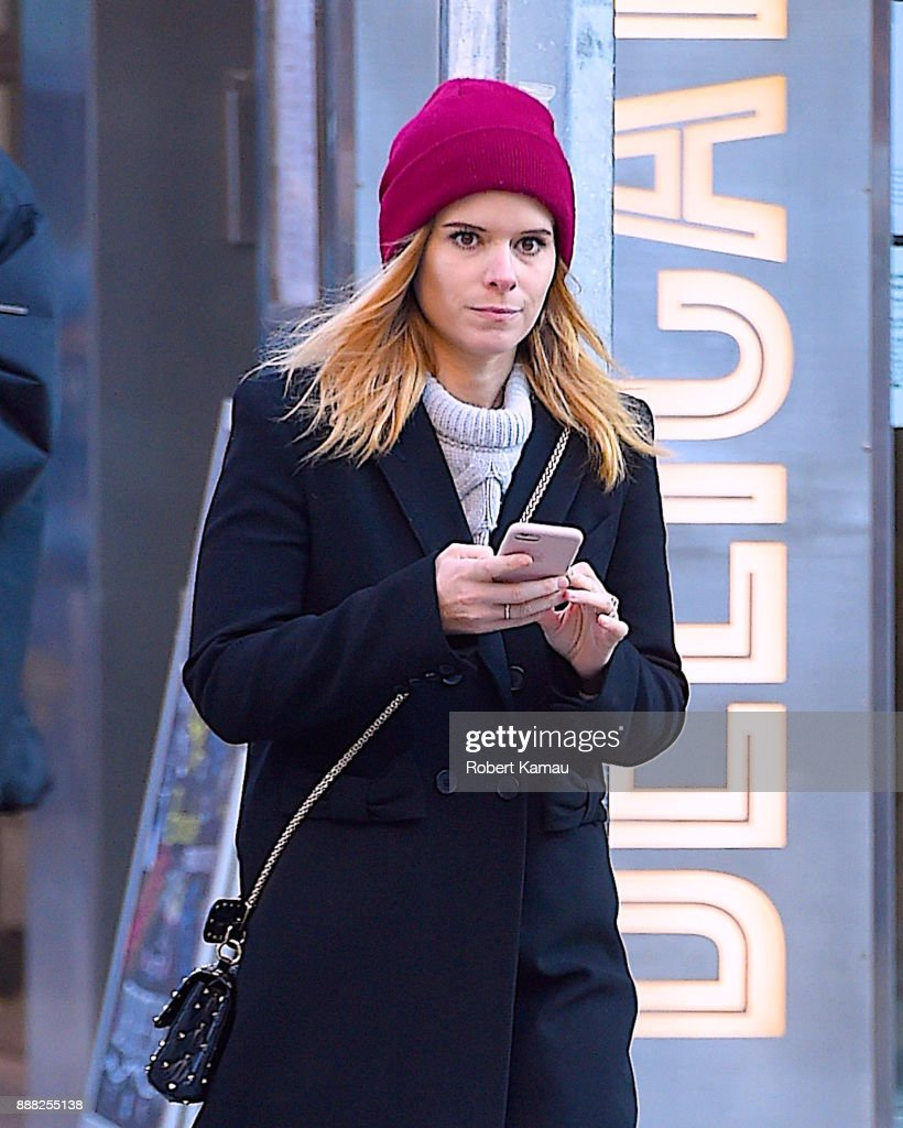 Celebrity Sightings in New York City - December 7, 2017 : News Photo