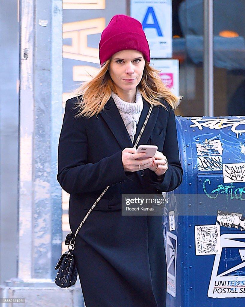 Celebrity Sightings in New York City - December 7, 2017 : News Photo