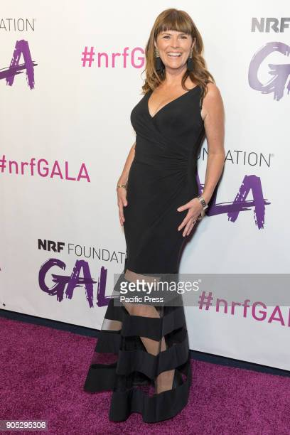 Kate Ross LeBlanc Cofounder and CEO Saje Natural Wellness attends 2018 National retail federation foundation gala at Pier 60
