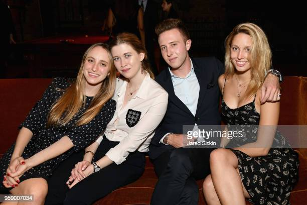 Kate Rowey Audrey Michaels Jack Siebert and Princess MariaOlympia of Greece and Denmark attend the Gersh Upfronts Party 2018 at The Bowery Hotel on...