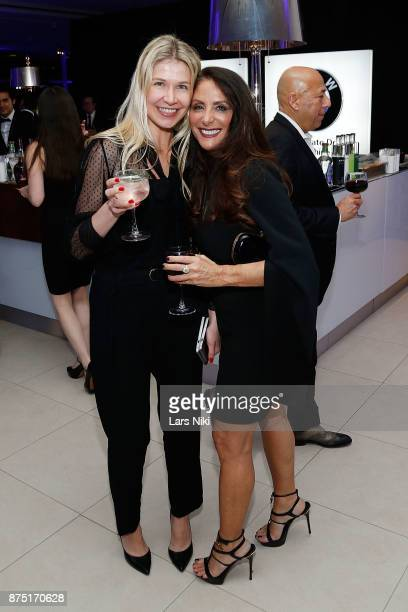 Kate Rumson and Gotham Magazine publisher Lynn Scotti Kassar attend the Gotham Men's Issue Celebration at the BMW of Manhattan Showroom on November...