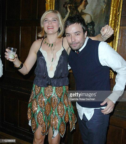 Kate Schelter and Jimmy Fallon during Jimmy Fallon's Birthday Party - September 24, 2005 at The National Arts Club in New York City, New York, United...