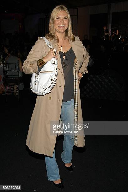 Kate Schelter attends SWAROVSKI hosts a party to present their POETIC NIGHT Collection at The Rink at Rockefeller Center on May 3 2006 in New York...