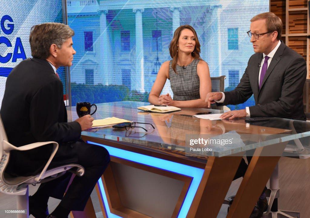 America Kate Shaw And Jonathan Karl On Good Morning America On News Photo Getty Images