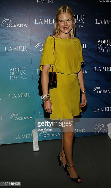 Kate Shelton attends the 2008 World Ocean Day hosted by La Mer and Oceana on June 4 2008 at Rockefeller Center in New York