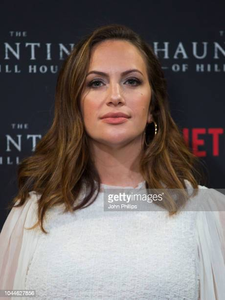 Kate Siegel attends a special screening of Netflix's The Haunting of Hill House at The Welsh Chapel on October 2 2018 in London England