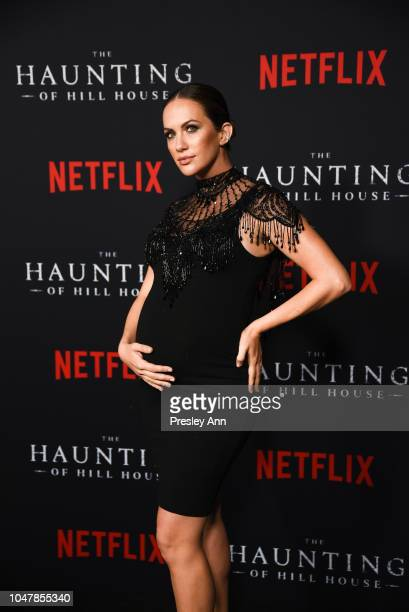 Kate Siegel attends Netflix's The Haunting Of Hill House Season 1 Premiere Arrivals at ArcLight Hollywood on October 8 2018 in Hollywood California