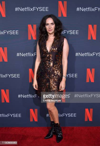 Kate Siegel attends the Netflix FYSEE Event for Haunting of Hill House at Raleigh Studios on May 21 2019 in Los Angeles California