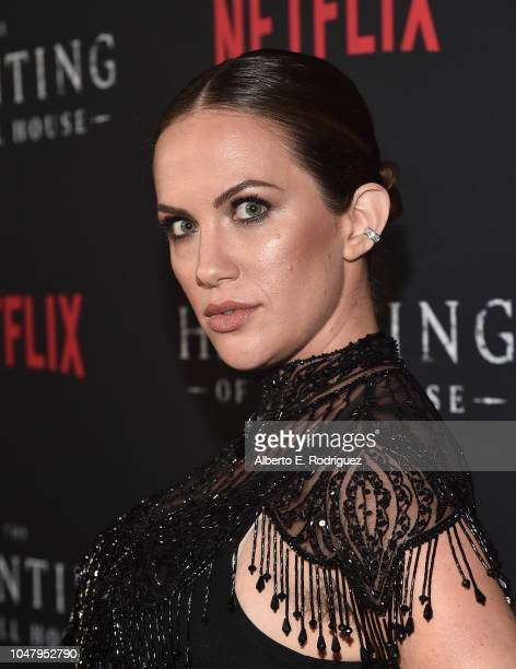 Kate Siegel attends the premiere of Neflix's The Haunting Of Hill House at ArcLight Hollywood on October 8 2018 in Hollywood California