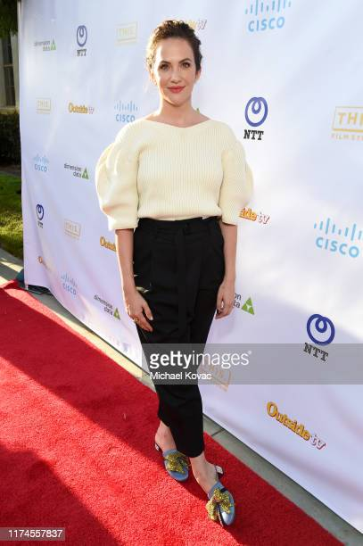 Kate Siegel attends the Save This Rhino National Premiere at Paramount Pictures on September 13 2019 in Los Angeles California