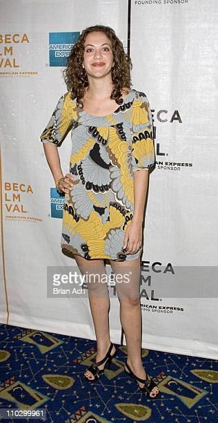 Kate Siegel during 6th Annual Tribeca Film Festival Towards Darkness World Premiere at Clearview Chelsea West in New York City New York United States