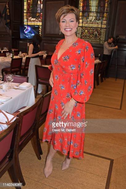 Kate Silverton attends the London Press Club Awards 2019 at Stationers' Hall on April 30 2019 in London England