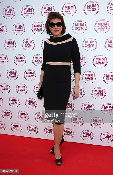 Kate Silverton attends the Tesco Mum of the Year Awards at The Savoy Hotel on March 1 2015 in London England