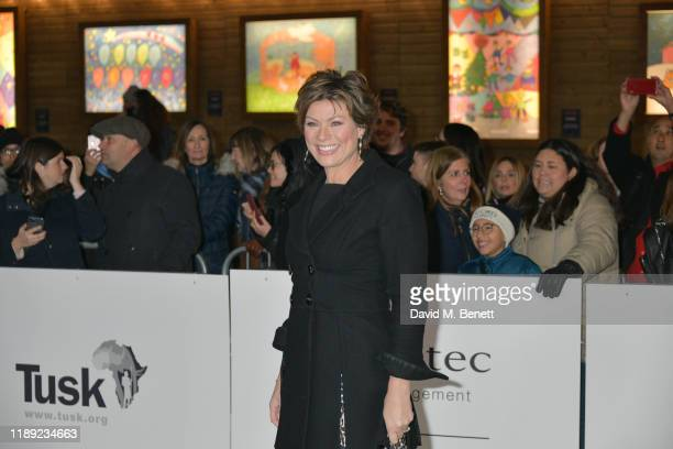 Kate Silverton attends the Tusk Conservation Awards 2019 at Cineworld Leicester Square on November 21 2019 in London England