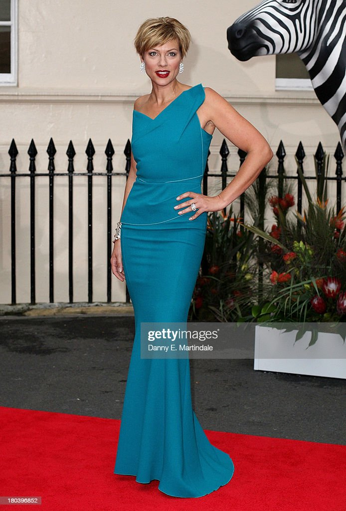 Kate Silverton attends the Tusk Conservation Awards at The Royal Society on September 12, 2013 in London, England.