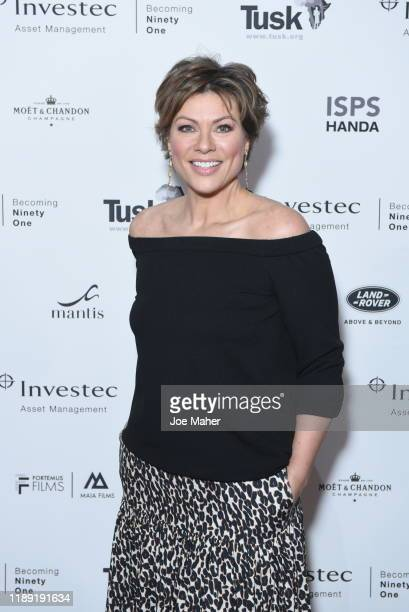 Kate Silverton attends the Tusk Conservation Awards ceremony at Empire Cineworld on November 21 2019 in London England