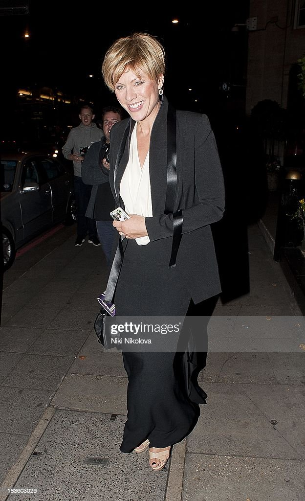 Celebrity Sightings In London - October 7, 2013
