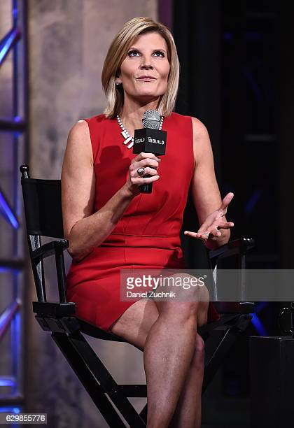 Kate Snow attends AOL Build to discuss her show 'MSNBC Live With Kate Snow' at AOL HQ on December 14 2016 in New York City