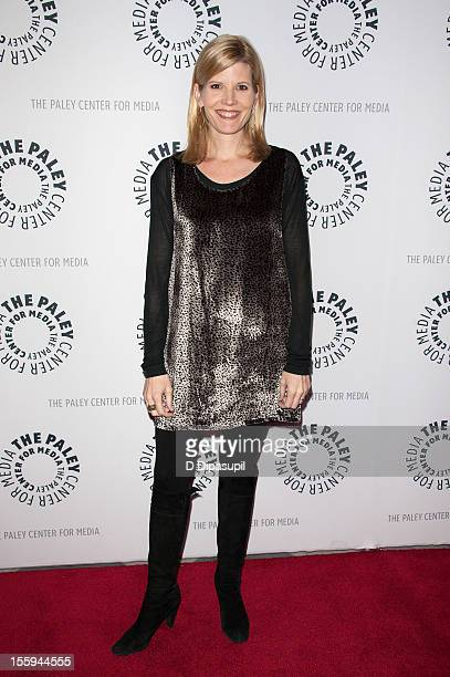 Kate Snow attends Denis Leary's Merry F#%$in' Christmas at the Paley Center For Media on November 9 2012 in New York City