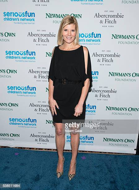 Kate Snow attends the 2016 SeriousFun Children's Network gala at Cipriani 42nd Street on June 6 2016 in New York City