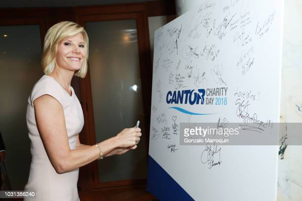 Kate Snow attends the Annual Charity Day hosted by Cantor Fitzgerald BGC and GFI at Cantor Fitzgerald on September 11 2018 in New York City