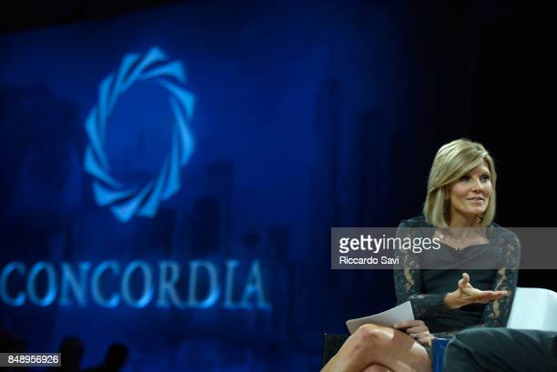 Kate Snow National Correspondent NBC News speaks at The 2017 Concordia Annual Summit at Grand Hyatt New York on September 18 2017 in New York City