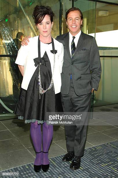 Kate Spade and Andy Spade attend American Patrons of the Tate Artists Dinner at Riverfront Pavilion on May 8 2007 in New York City