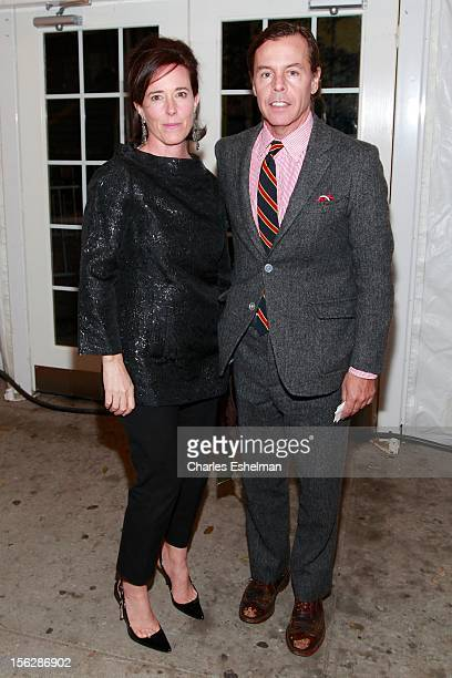 Kate Spade and Andy Spade attend the 2012 Dia Art Foundation's Gala at Dia Art Foundation on November 12 2012 in New York City