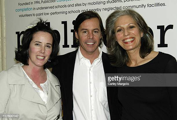 Kate Spade Andy Spade and Ruth Lande Shuman founder/president of Publicolor