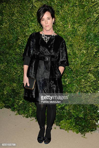Kate Spade attends CFDA/VOGUE Fashion Fund Awards at Skylight Studios on November 17 2008 in New York City