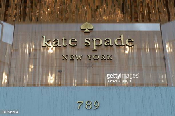 A Kate Spade boutique on June 5 2018 in New York Spade one of the biggest names in American fashion was found dead in New York after committing...