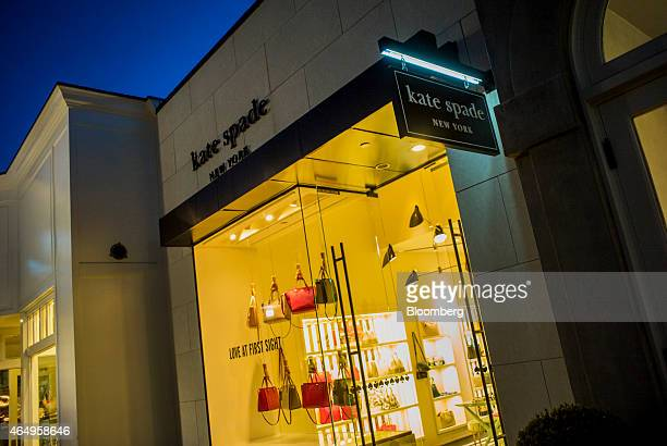 A Kate Spade Co store stands in Corte Madera California US on Friday Feb 27 2015 Kate Spade Co is expected to release earnings figures on March 3...