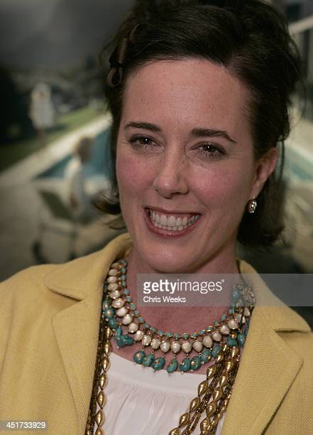 Kate Spade during Photographer's Gallery Presents Slim Aarons Curated by Kate Spade at Fred Segal Cafe in West Hollywood California United States