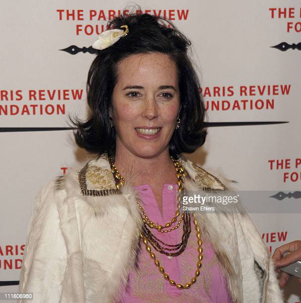 Kate Spade during The Paris Review Foundation Presents Fall Revel Honoring William Styron at Cipriani at 200 Fifth Avenue in New York City, New York,...