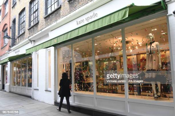 A Kate Spade shop in Covent Garden London The American fashion designer Kate Spade was found dead in her apartment in New York on Tuesday following...