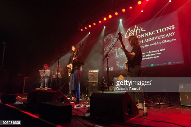 Kate Stables of This Is The Kit performs on stage at O2 ABC Glasgow on January 19 2018 in Glasgow Scotland