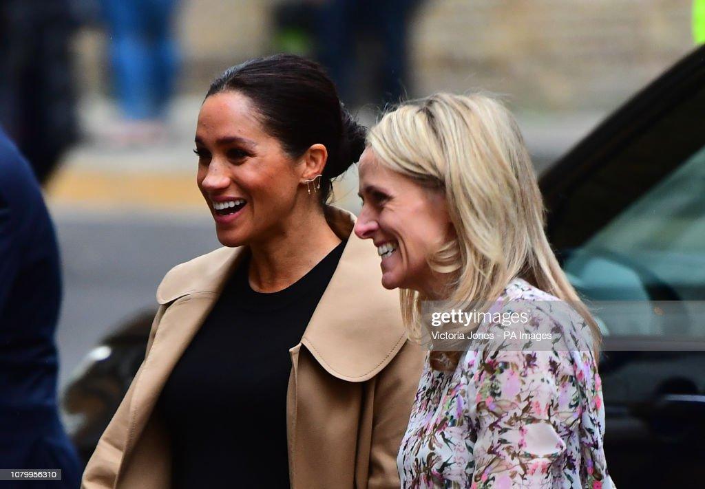 Duchess of Sussex announces patronages : News Photo
