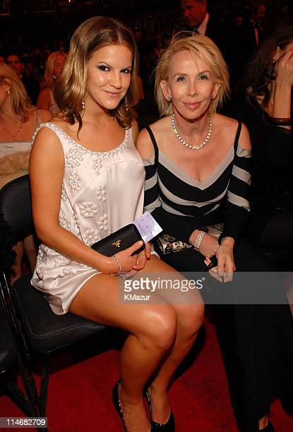 Kate Sumner and Trudie Styler during The 49th Annual GRAMMY Awards Audience at Staples Center in Los Angeles California United States