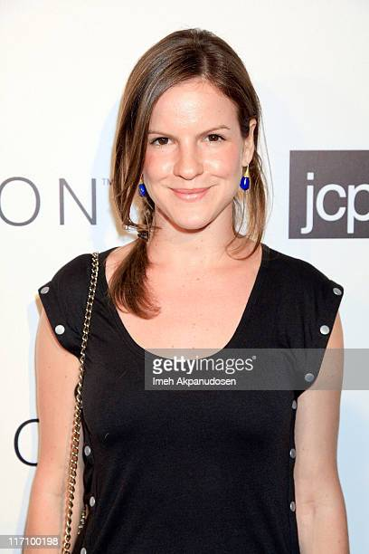 Kate Sumner attends the I Heart Ronson and jcpenney celebration of The I Heart Ronson Collection held at the Hollywood Roosevelt Hotel on June 21...