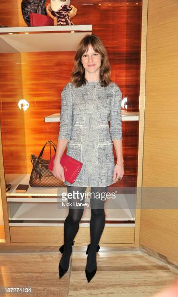 Kate Sumner attends the launch of Louis Vuitton Townhouse at Selfridges on November 7 2013 in London England