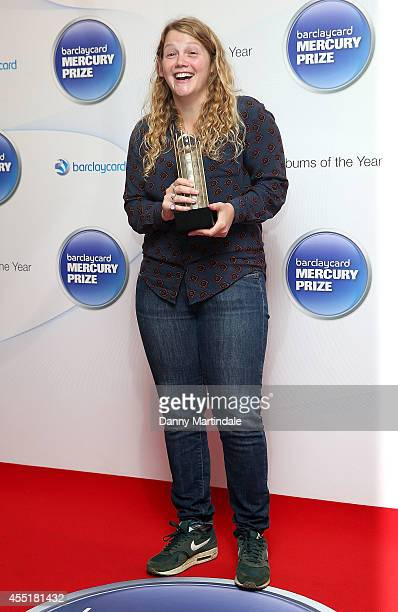 Kate Tempest attends the Barclaycard Mercury Prize nominations launch at The Hospital Club on September 10 2014 in London England