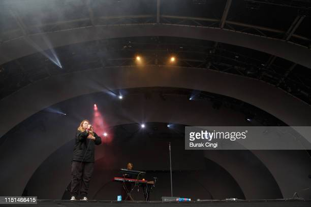 Kate Tempest performs during the All Points East Festival at Victoria Park on May 24, 2019 in London, England.