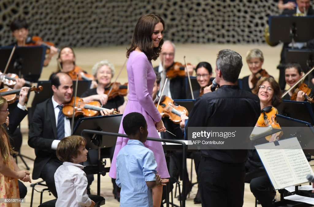 GERMANY-BRITAIN-ROYALS-MUSIC : News Photo