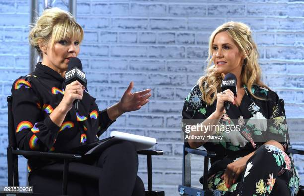 Kate Thornton and Heidi Range at the Build LDN event at AOL London on June 7 2017 in London England