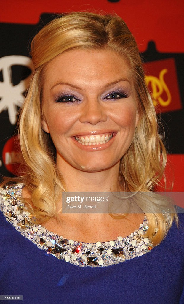Kate Thornton arrives at the BRIT Awards 2007 in association with MasterCard, at Earls Court 1 on February 14, 2007 in London, England.