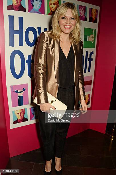 Kate Thornton attends the press night after party of How The Other Half Loves at Mint Leaf on March 31 2016 in London England